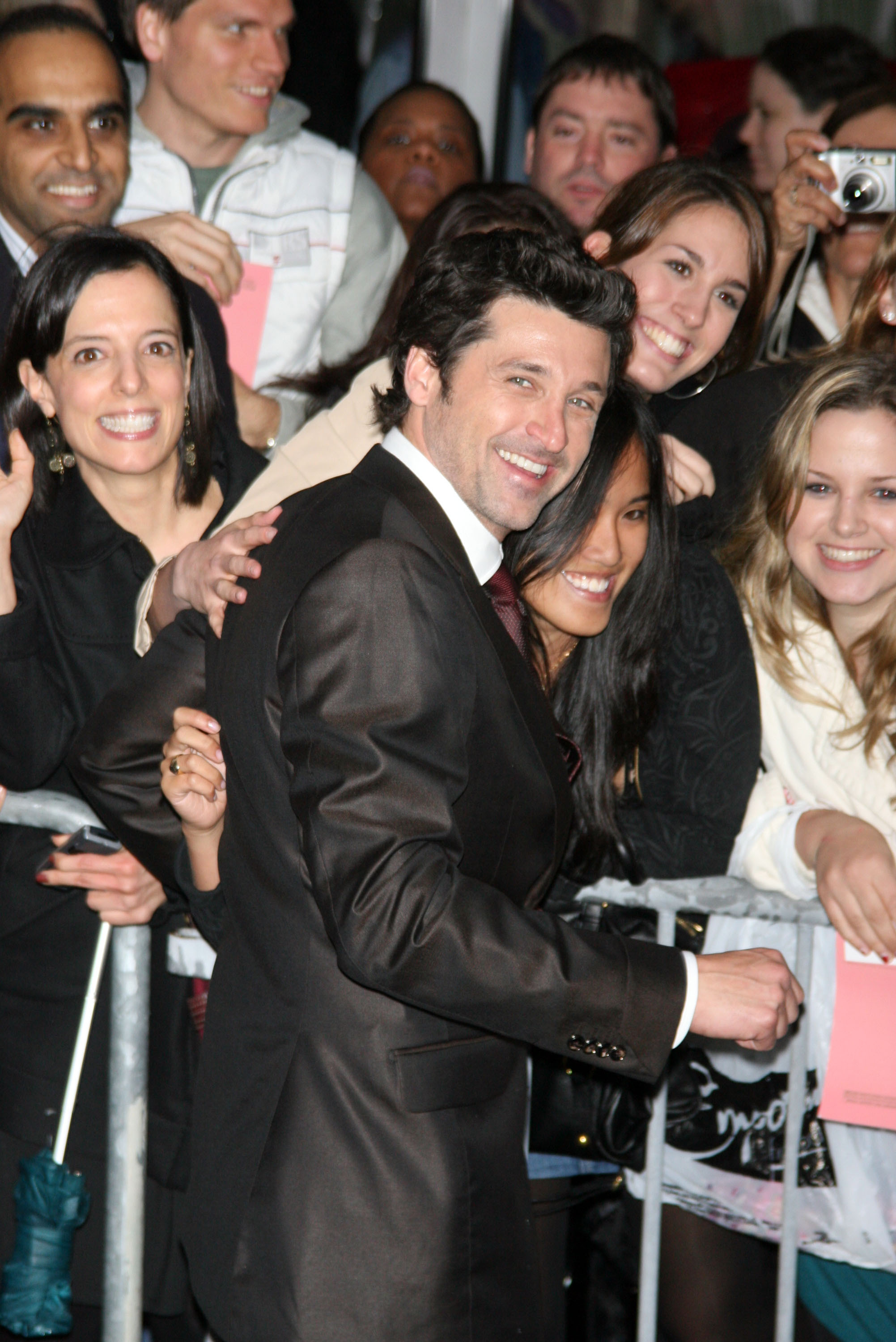 McDreamy Is Serious About Comedy and His Pecs