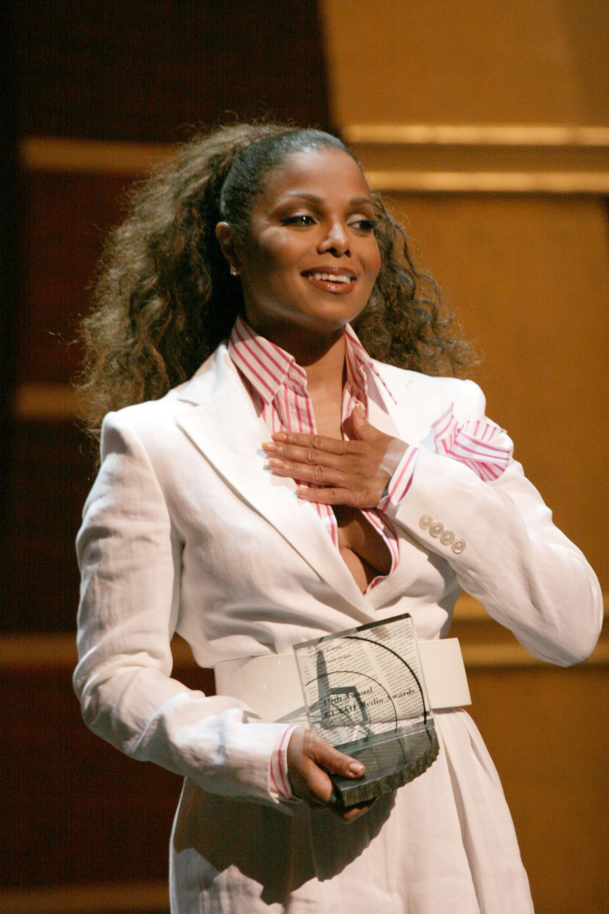 Janet Bowled Over at GLAAD Media Awards