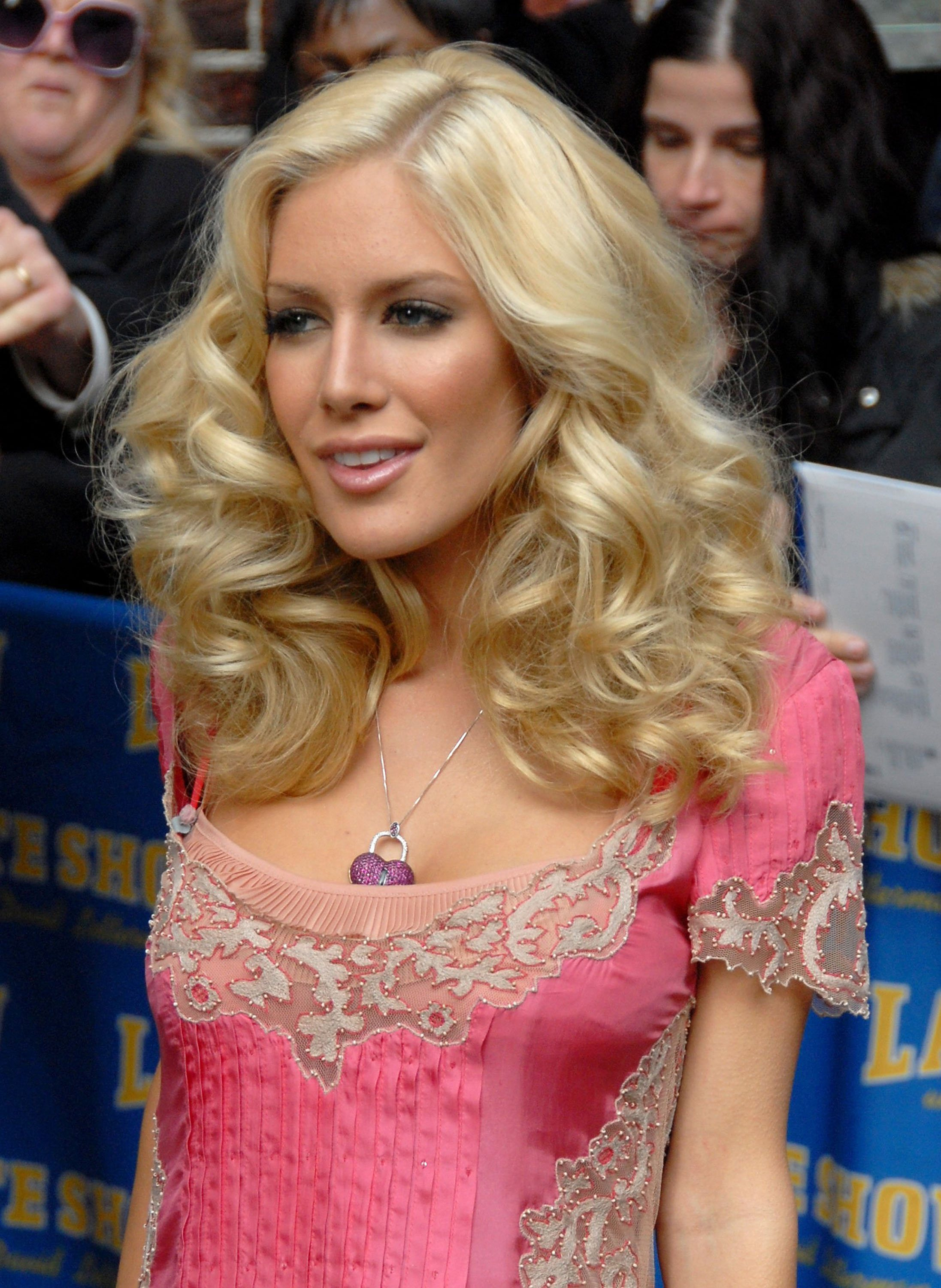 Heidi Montag Slept with Enough People to Do 'Letterman'