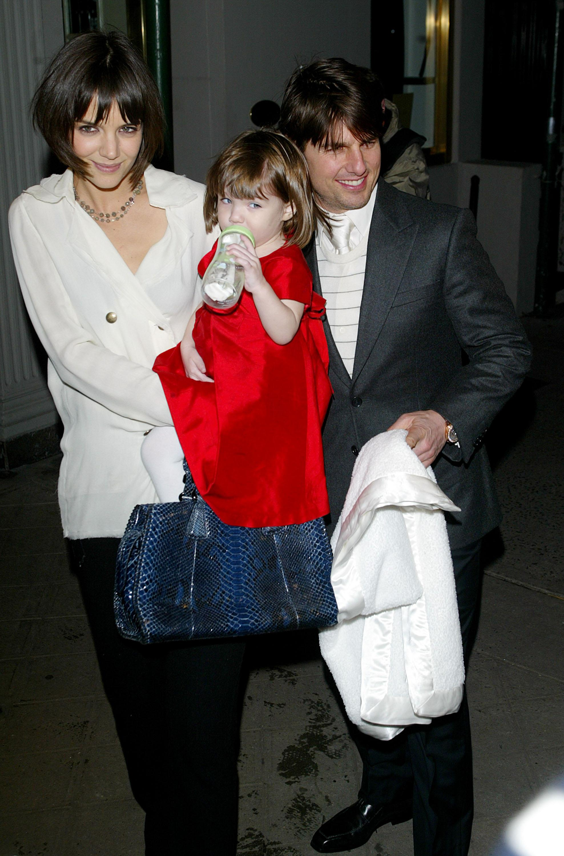 Suri Cruise in Early Rehearsals to Play Anne Frank