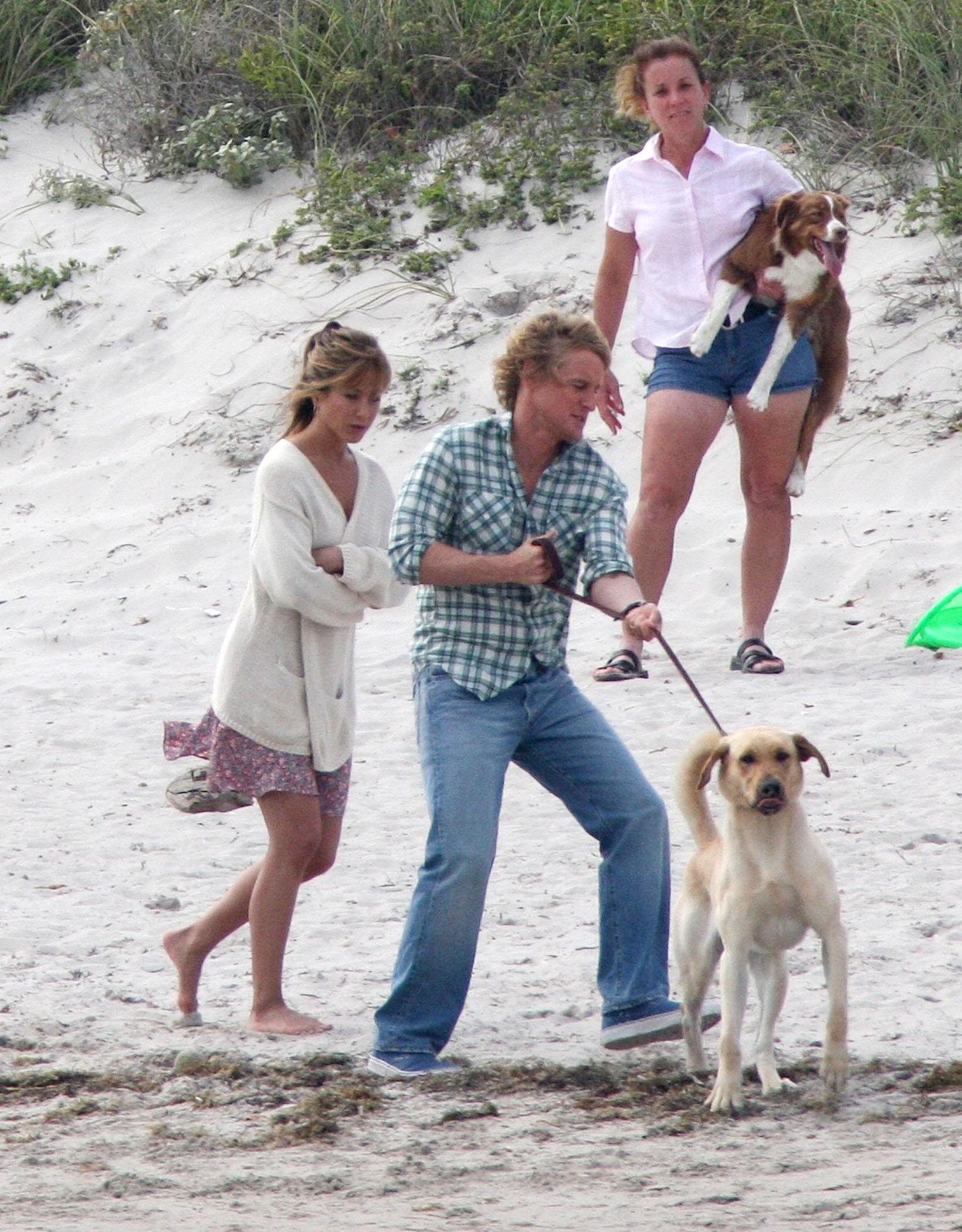Jen Aniston & Owen Wilson: Marlins & Me
