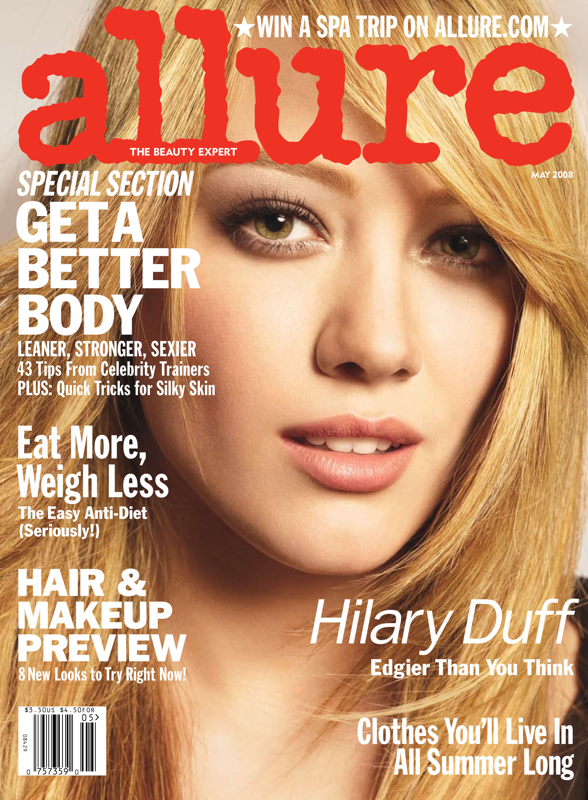 Hilary Duff Perfecting Her Plan for Perfection