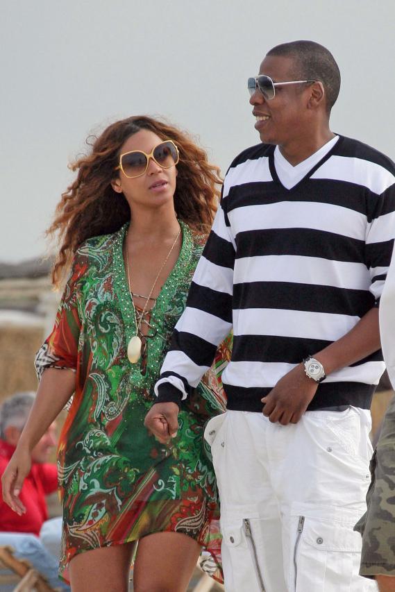 Beyoncé & Jay-Z Diss 'n' Make Up