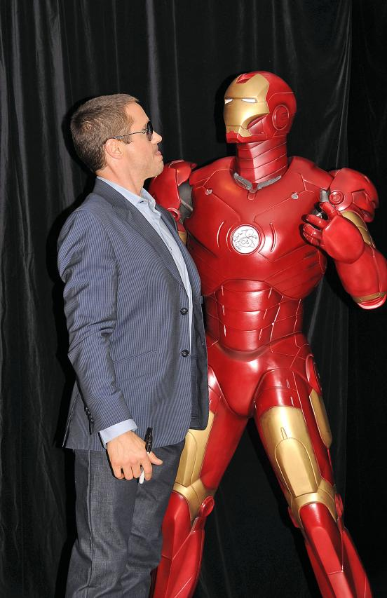Robert Downey, Jr. Iron Man's Out His Problems