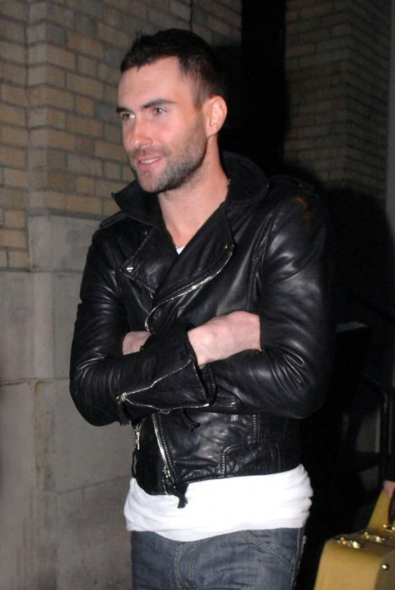 Adam Levine's Hot Hollywood Night