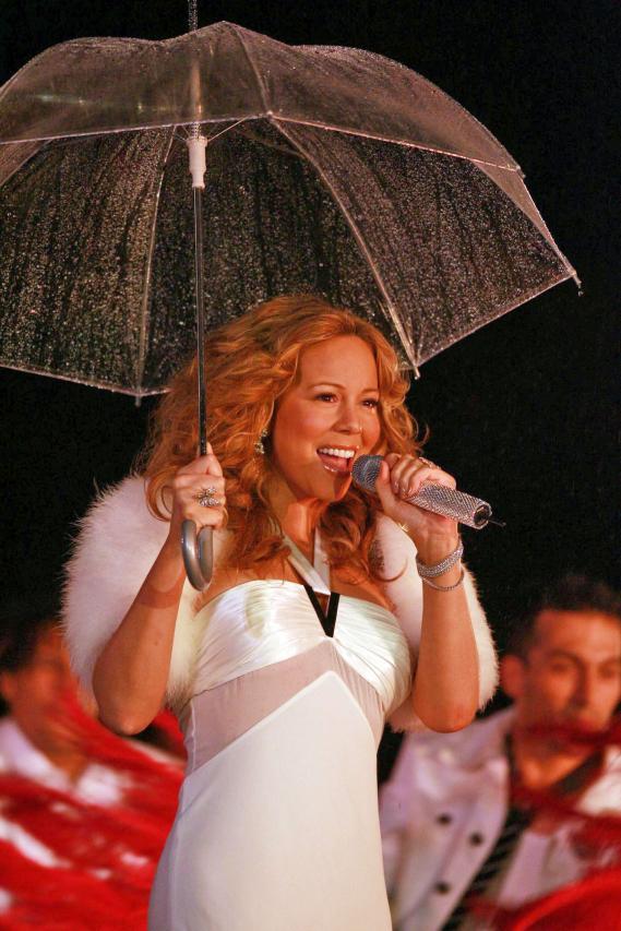 Mariah Carey Says Rugrats Won't Rain on Her Parade