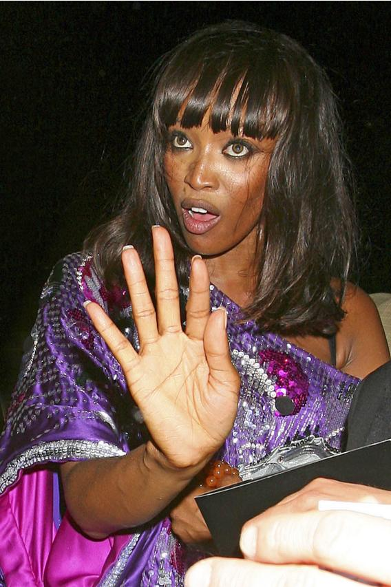 Hair's the Thing with Naomi Campbell…