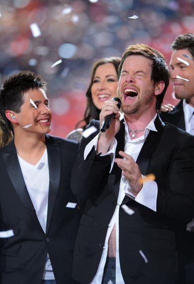 'American Idol': David Won