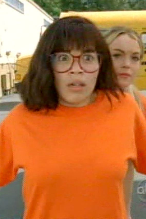 Lindsay Dodges Balls on 'Ugly Betty'…Not That Kind