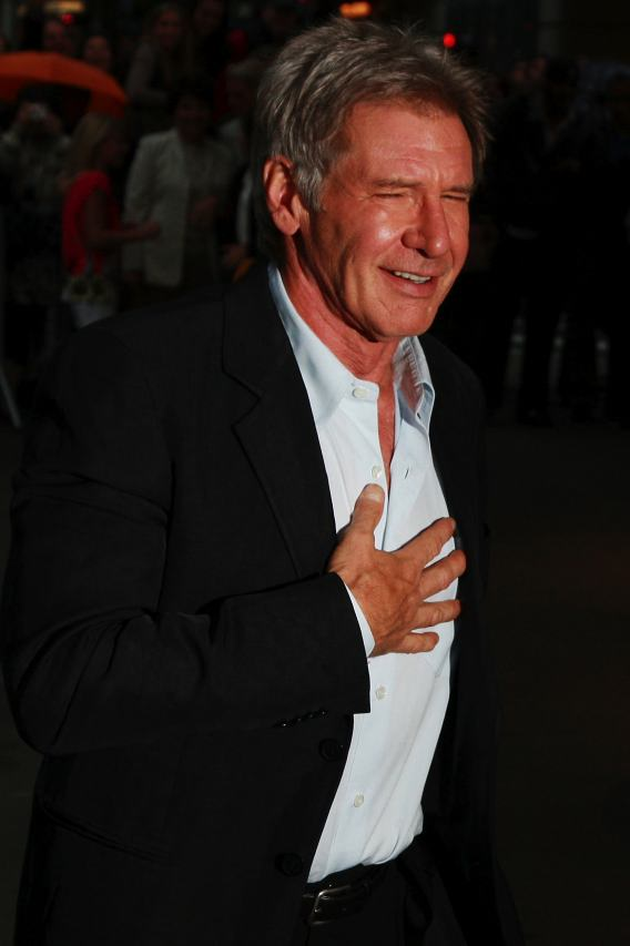 Harrison Ford Speaks Slowly, Carries a Big Whip