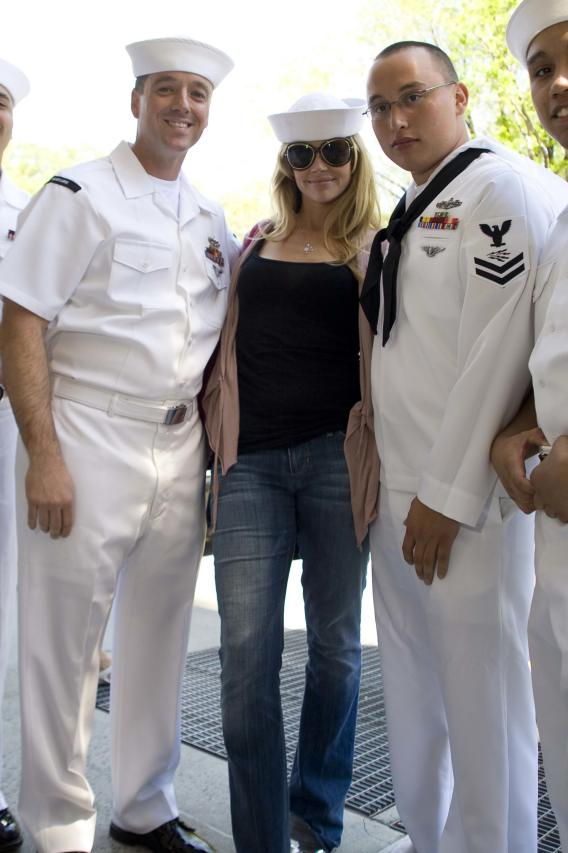 Denise Richards Finds Seamen She Likes