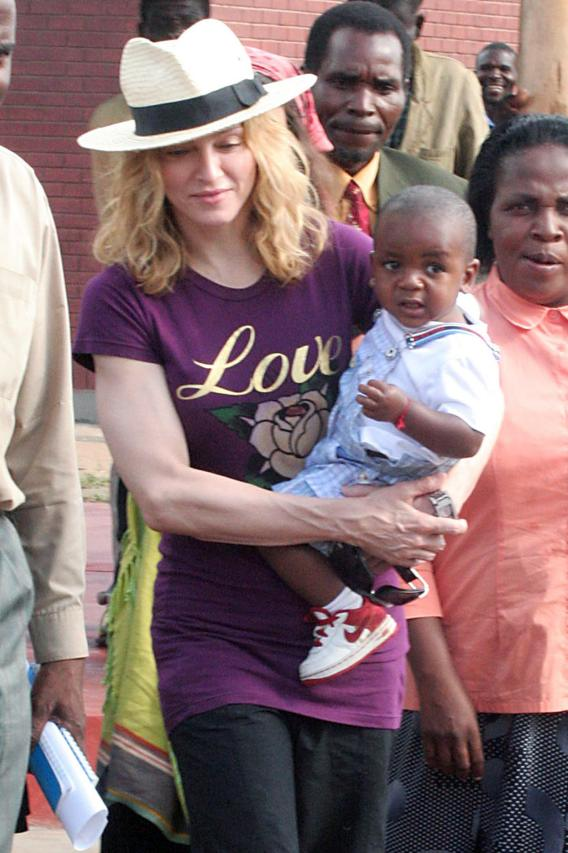 Madonna Finally Owns Adopted Baby Outright