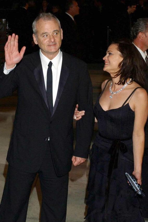 Bill Murray's Wife Hits Hard