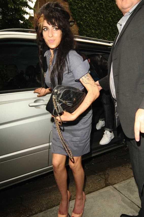 Amy Winehouse Goes to Court