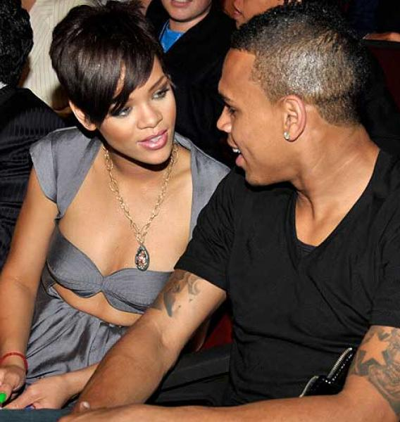 Chris Brown Wears His Heart on Rihanna's Sleeve