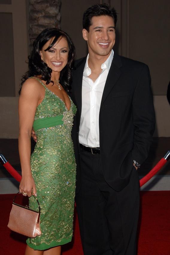 Mario Lopez and Karina Smirnoff Split