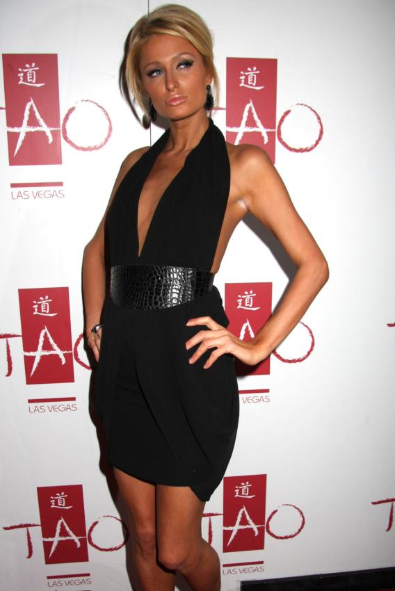 Paris Hilton's a Real Cutup
