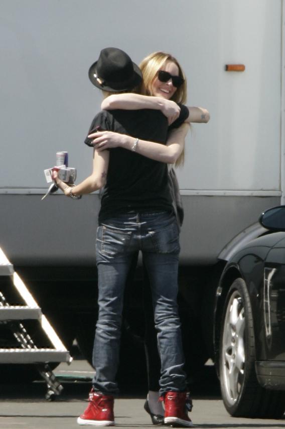 Lindsay Lohan's Joyful Reunion with Lady Love