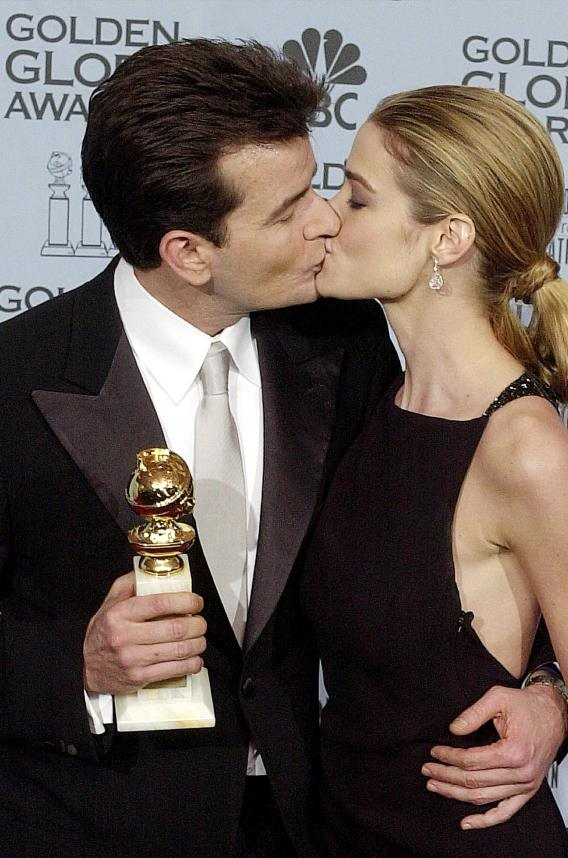 Denise Richards and Charlie Sheen Needle Each Other
