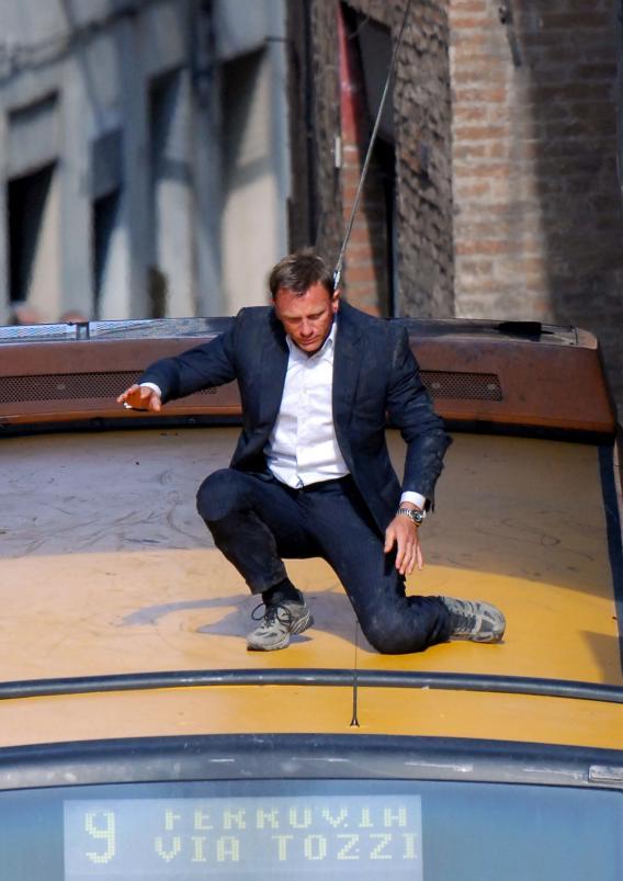 'My Name Is Bond. James Bo—Aaarrgh!'