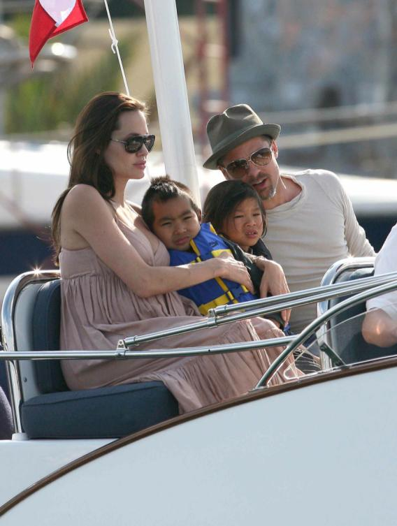 Angelina and Brad Want French Kids