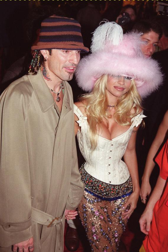 Pam Anderson and Tommy Lee Shag and Shack Up
