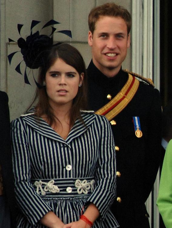 Princess Eugenie Flashes Her Royal Flesh