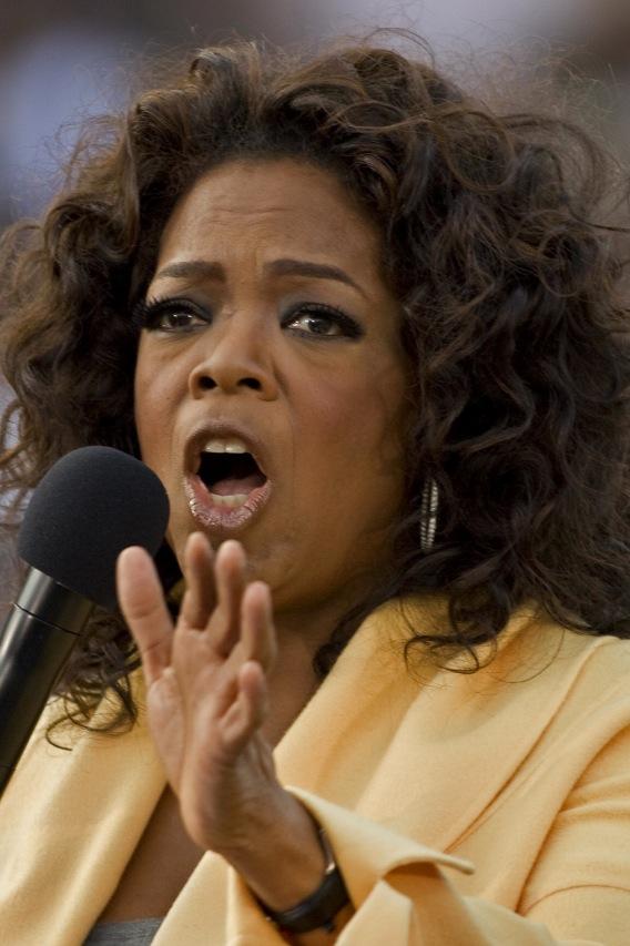 Video: Oprah Winfrey's Pompous Circumstance
