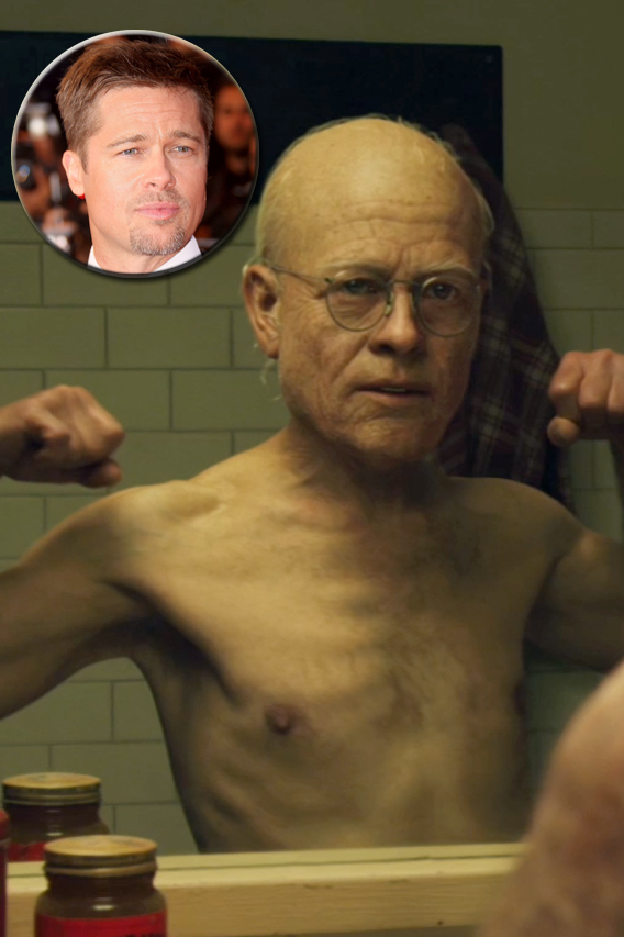 Brad Pitt Goes Back to the Future