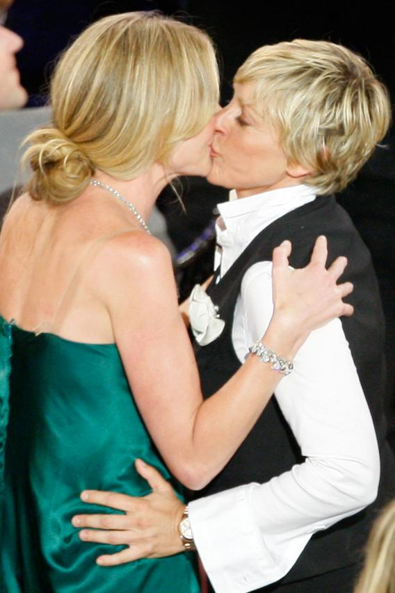 Ellen  and Portia to Make Things Nice and Legal
