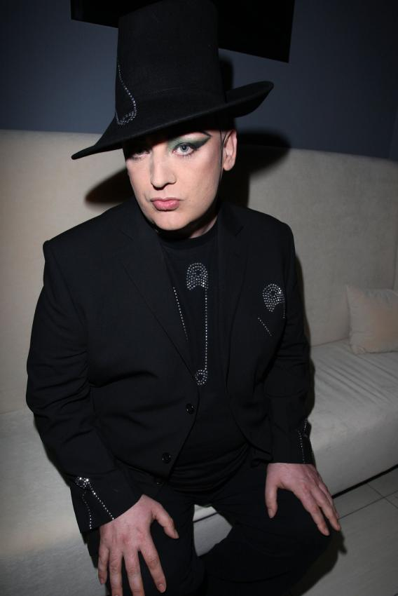 The Man Keeps Boy George Down