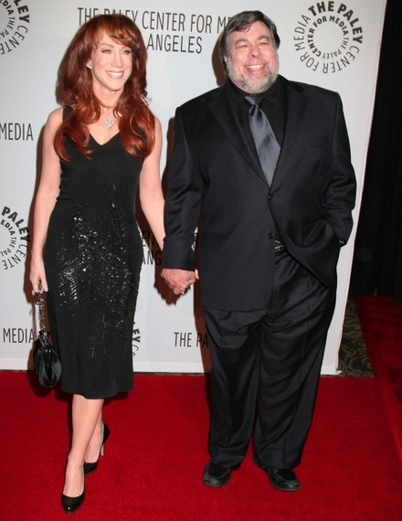 Kathy Griffin Never Nailed Wozniak