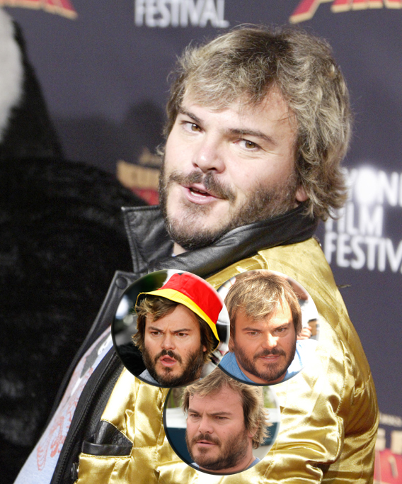 The Not So Many Faces of Jack Black