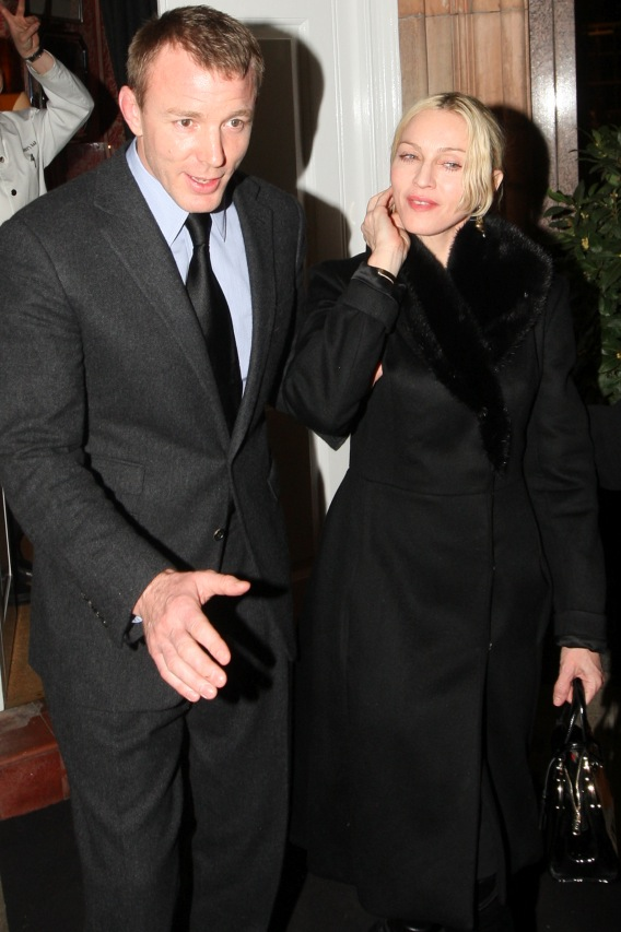 Madonna and Guy Gonna Say Bye-Bye?