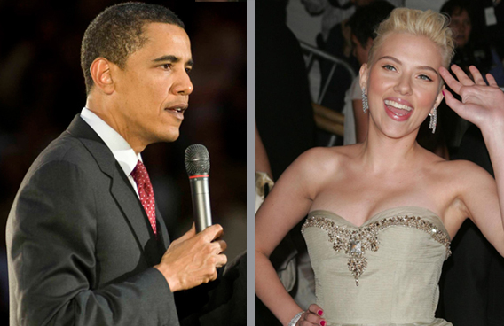 Scarlett and Barack: How Close Is Too Close?