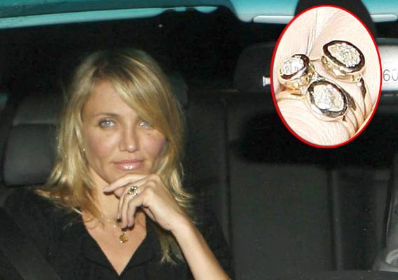 Cameron Diaz Engaged to One of Her Many Males?