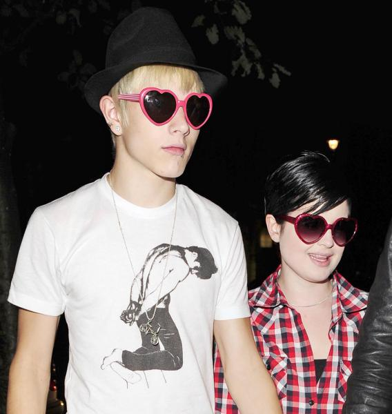 Kelly Osbourne Finds a Guy Less Manly Than Her