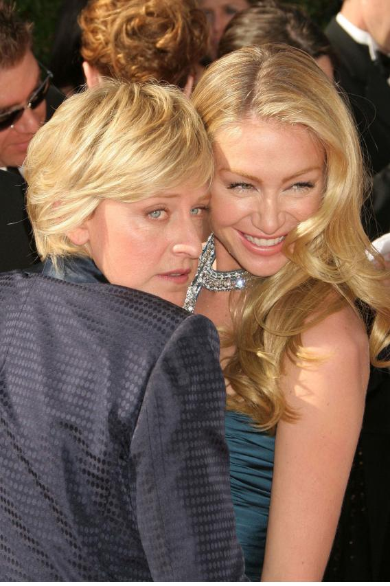 Ellen and Portia Will Do It in the Desert