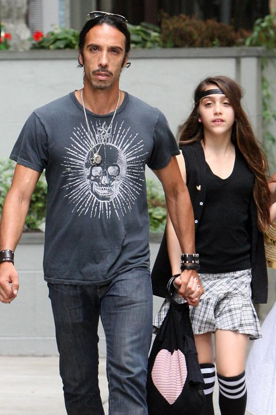 Madonna's Daughter Has an Angry Dad