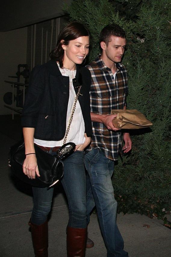 Justin Timberlake and Jessica Biel Are Shackin' Up