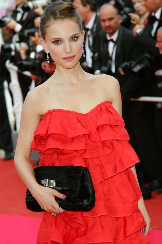 Natalie Portman Turns Porta-Potty