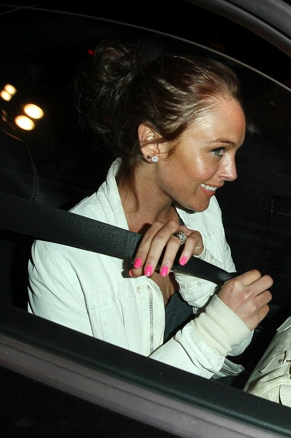 Lindsay Lohan: Sleeping with the Enemy