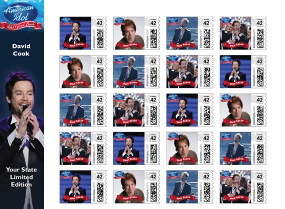 'American Idol' Commemorative Stamps