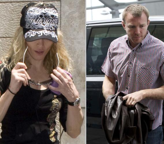 Madonna and Guy Ritchie Stop Ringing Each Other Up