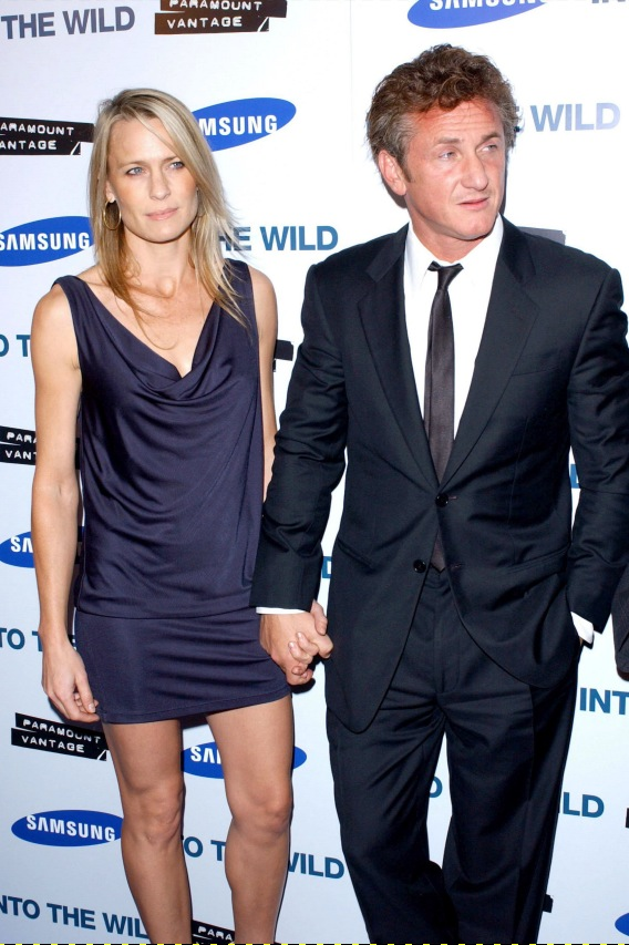 Sean Penn and Robin Wright Penn Reconcile the Irreconcilable