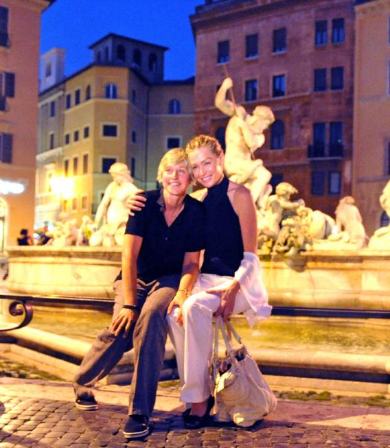 Ellen and Portia: Rome If They Want To