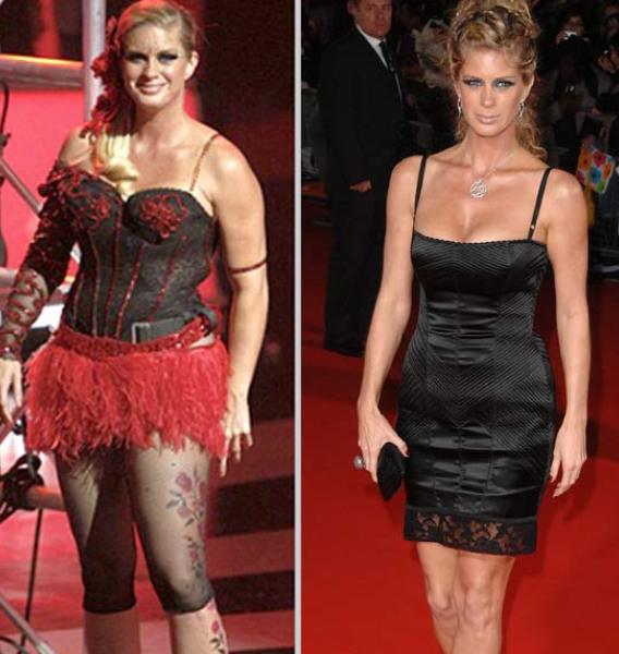 Shock Horror: Rachel Hunter Looks…Normal
