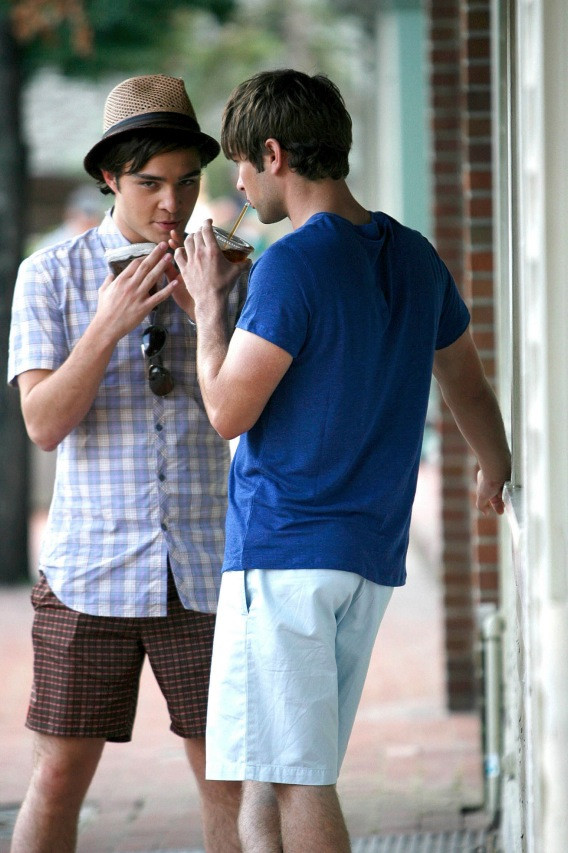 Chace Crawford and Ed Westwick's Jovial Gay Rumors