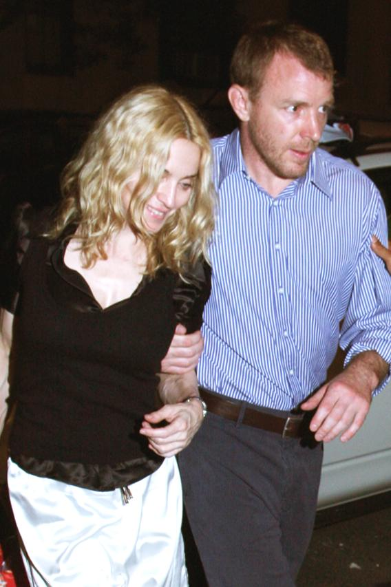 Madonna and Guy Still Faking Like Marriage Is Great