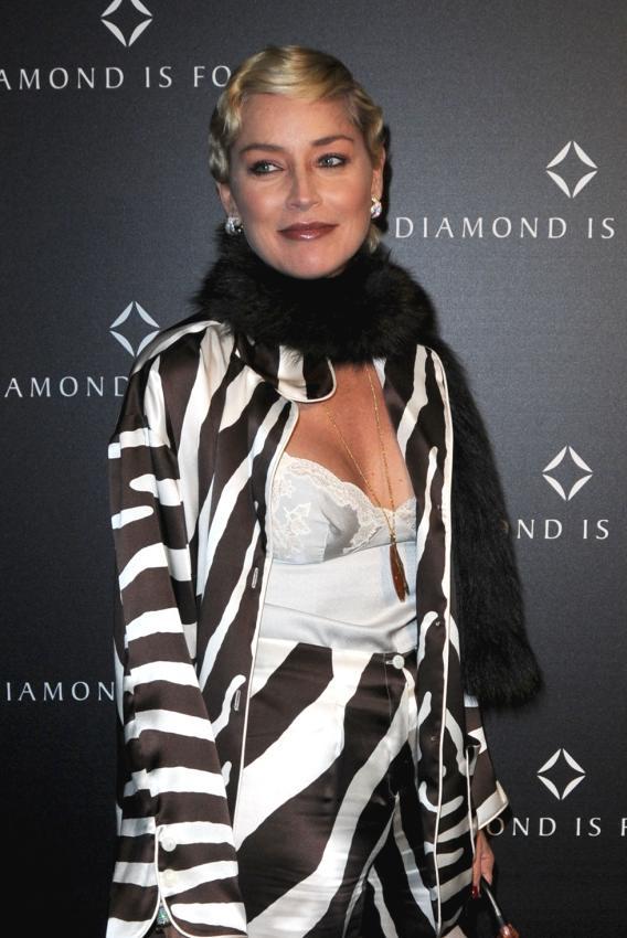 PETA Takes a Whack at Sharon Stone's Fur